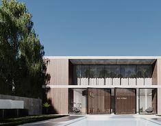 Personal architectural and interior design concept. 3d Rendering, Behance, Interior Design, Architecture, Gallery, Outdoor Decor, Check, Home Decor, Nest Design