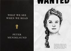 What We See When We Read: In his new book, What We See When We Read, Peter Mendelsund (an associate art director at Knopf, best known for his Girl with the Dragon Tattoo design) explores the process of visualizing stories as we're reading them.  Read more: What We See When We Read | Books | PureWow Books  Sign Up For PureWow's Daily Email
