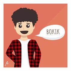 """""""Bokik"""" akan jadi tokoh utama dalam sebuah komik pendek. Coming soon . . . :)"""