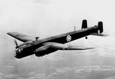 A Royal Air Force Armstrong Whitworth Whitley bomber in flight, circa Ww2 Aircraft, Military Aircraft, Navy Aircraft, Ww2 Planes, Vintage Airplanes, Aircraft Design, Royal Air Force, War Machine, World War Two
