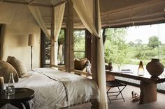 Pure African luxury and Sabi Sand exclusivity... Singita Boulders Lodge in Sabi Sand, South Africa