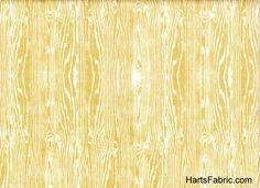 Free Spirit Aviary 2 Fabric Pale Yellow Woodgrain by Joel Dewberry