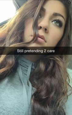 Andrea russetts makeup gives me life via snapchat
