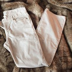 """J.Crew """"favorite fit"""" Bootcut stretch cord Size 30R and they have a 32"""" inseam. Simple gray/stone/silver color goes with everything! J. Crew Pants Boot Cut & Flare"""