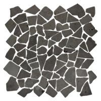 Black Cobble 12 x 12 in $9.99 Sq Ft     			 					Coverage 0.00 Sq Ft per  Box