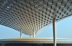 v2com newswire | Institutional Architecture | Shenzhen Bao'an International Airport - Terminal 3 opens 28 November, 2013 - Massimiliano and Doriana Fuksas  @Studio Fuksas