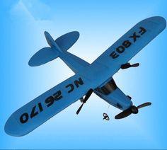 2CH Electric Foam Remote Control Plane for children