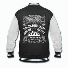 Ouija Board Varsity Jacket by Threads of the Dead