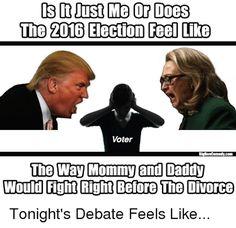10 Hilarious 2016 Presidential Debate Memes - ODDEE