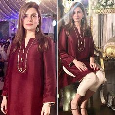 """Simplicity is the ultimate sophistication"". Sana stuns in Umer Sohail's attire 👌🏻 Beautiful Pakistani Dresses, Pakistani Formal Dresses, Pakistani Fashion Casual, Pakistani Wedding Outfits, Pakistani Dress Design, Stylish Dresses For Girls, Stylish Dress Designs, Simple Dresses, Casual Dresses"
