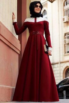 Gamze Polat  Yazlık Tesettür Elbise Modelleri