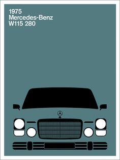 Merc W115 280