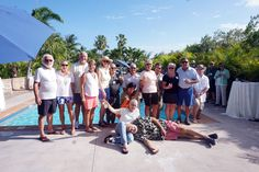 """At the official """"Fantastic Florida Keys"""" rally kick-off steel drums, a well-stocked bar and passed appetizers welcomed the First-Timers and their Rally Buddies at the resort's clubhouse."""