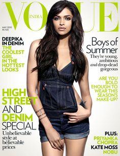 Deepika Padukone. Vogue India May 2010.
