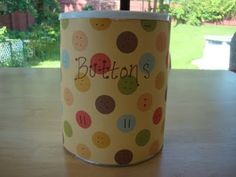 Ideas for repurposing formula cans! - Shaping Up To Be A Mom