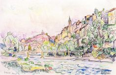 The Athenaeum - Vaison (Paul Signac - )