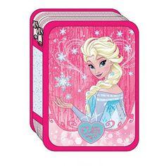 6a63ba3434a Κασετίνα διπλή γεμάτη Frozen Elsa Anna | Το Ξύλινο Αλογάκι - παιχνίδια για  παιδιά
