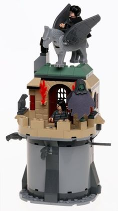 LEGO Harry Potter: Sirius Black's Escape, Harry and the Hippogriff, Buckbeak, only have one chance to rescue Sirius from the Dementor. Open the tower and use Harry's wand to unlock a secret hiding place to find keys to release Sirius. Include..., #Toys, #Building Sets