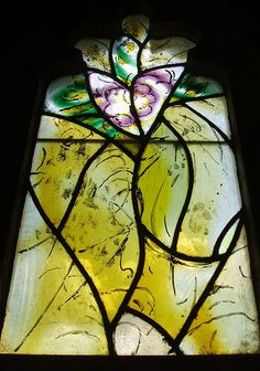 #Marc-Chagall #marcchagall #Chagall Chagall Glass, Tudeley Stained Glass Church, Modern Stained Glass, Stained Glass Patterns, Stained Glass Art, Stained Glass Windows, Marc Chagall, Abstract Oil, Abstract Paintings, Oil Paintings