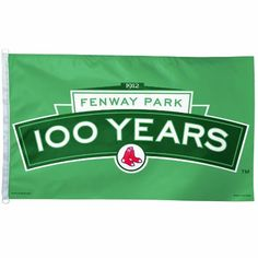 MLB Boston Red Sox Fenway 100 Years 3-by-5 Foot Flag