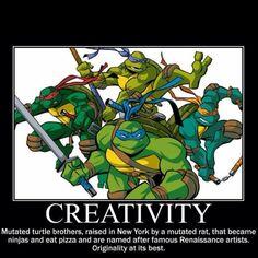 TMNT - creativity at its finest