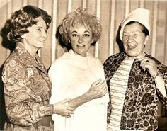 Matrona (right) with her friend Patty Barham (left) and famous American actress Phyllis Diller (center). Phyllis Diller, Love Machine, Tsar Nicholas Ii, Rasputin, History Channel, Family Album, Great Love, Memoirs, American Actress