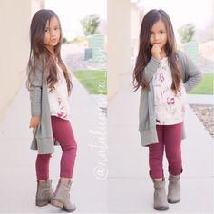 "⠀⠀⠀⠀Natalie ❃ Amora ❃ Love on Instagram: ""She starting kindergarten soon Outfit from @oldnavy Boots from @stevemadden #ootd #backtoschool"""