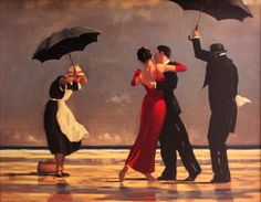 "Jack Vettriano ""The Singing Butler"" - my absolute favorite painting!"
