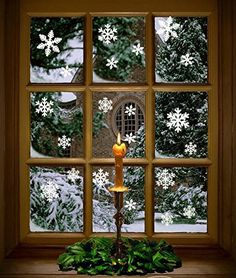 Some of my favorite memories are from our Christmas visits to Colonial Williamsburg; Christmas Candle In a Window Colonial Williamsburg. Photo by Tom Green Noel Christmas, Country Christmas, All Things Christmas, Winter Christmas, Vintage Christmas, Celtic Christmas, Simple Christmas, Candles In Windows Christmas, Christmas Photos