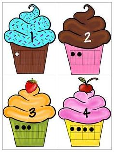 cupcak, ten frame, includ number, numbers 1-10, numbers 1 10 activities, preschool number, number 110, frame match, 10 frame