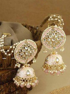Ear Jewelry, Jewlery, Gold Bangles For Women, Bridal Bangles, Fancy Jewellery, Antique Jewelry, Ethnic, Fashion Jewelry, Jewelry Design