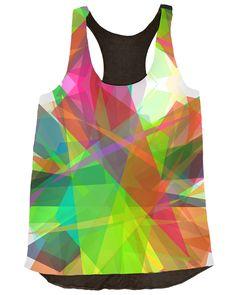 Chromic Crystals Top by Rafa Muci (http://vividly.co/chromic-crystals-top/)