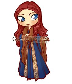 Catelyn Stark Chibi/Puppet by ~BelleDameSansMerci on deviantART