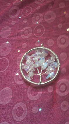 Gypsy Sinti Opalite Tree Of Life Pendant by Ellasmysticalgifts, $10.00