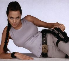 Angelina Jolie Lara Croft Angelina Jolie, Tomb Raider Angelina Jolie, Angelina Jolie Makeup, Angelina Jolie Photos, New Lara Croft, Laura Croft, Divas, Sara Underwood, Movies And Series