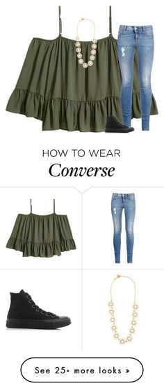 """On my way up north ♥️"" by katherinecat14 on Polyvore featuring Kate Spade, STELLA McCARTNEY and Converse"