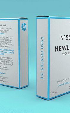 ¿Por qué los cartuchos de tinta deberían tener packaging como el Chanel No. 5? La tinta para impresoras inkjet cuesta más de US$ 2,000 por litro, alrededor del doble que el Chanel No. 5 - http://2ba.by/wifa