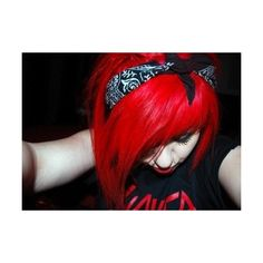 Hair ❤ liked on Polyvore featuring hair, people, girls, pictures, red and backgrounds