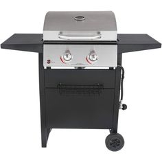 Sorry, completed: RevoAce 2 Burner Space Saver Gas Grill Stainless Steel and Black Electric Barbecue Grill, Portable Barbecue, Gas Bbq, Bbq Grill, Grilling, 3 Burner Gas Grill, Propane Gas Grill, Portable Charcoal Grill, Gas Grill Covers