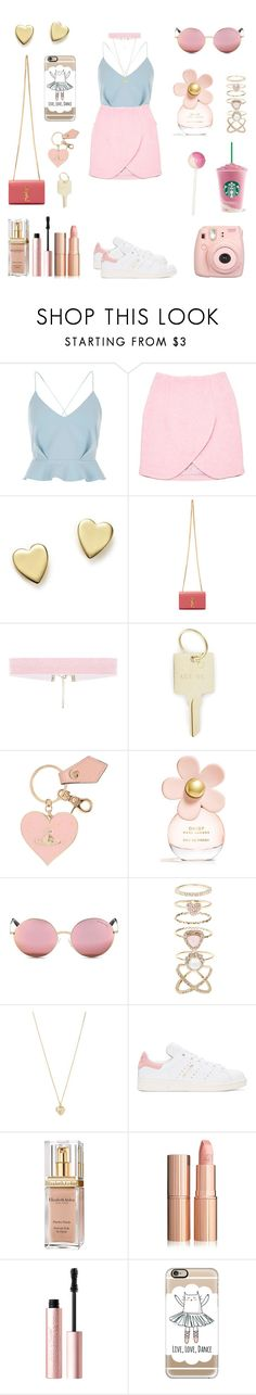 """""""Sem título #157"""" by starsellena ❤ liked on Polyvore featuring River Island, Carven, Bloomingdale's, Yves Saint Laurent, The Giving Keys, Vivienne Westwood, Marc Jacobs, Michael Kors, Accessorize and Forever 21"""