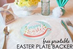 Easter Plate Free Pr