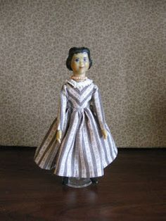 In Hitty: Her First Hundred Years , Dorothy Lathrop drew the delightful illustrations. Many of the illustrations depict Hitty in dresses tha. Doll Clothes Patterns, Doll Patterns, Clothing Patterns, Peg Wooden Doll, Photo Elements, Real Doll, White Caps, Anime Dolls, Everyday Dresses