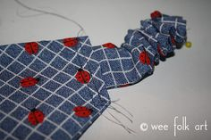 Stretchy Bandana Headband - Wee Folk Art Bandana Styles, Kerchief, Scrunchies, Folk Art, Headbands, Head Bands, Popular Art