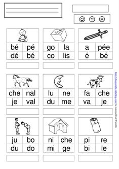 Teaching 563090759655331437 - mots – la maternelle de Camille Source by muratie French Language Lessons, French Language Learning, French Lessons, Abc Education, French Education, Learning French For Kids, Teaching French, Teaching Activities, Teaching Kids