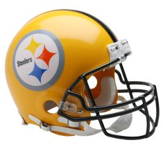 Pittsburgh Steelers 1962 Authentic Full Size Throwback Helmet - 75th Anniversary