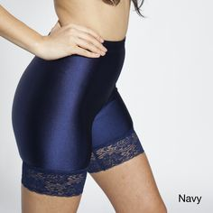 American Apparel Women's Tricot Lace Cycle Shorts