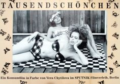 Sedmikrásky (Daisies), 1966 - German poster