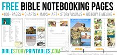 Bible Notebooking Pages