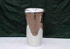 Polished chrome planter Good condition