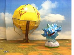 This paper Balloon is really tricky! It's the perfect addition to any expert Portal Master's Skyland.